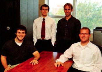 Team Members (L-R): Mitchell Thelen, Jacob Walker, Jason Cepela, Johnathan Richter