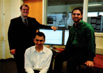 Team Members (L-R): Paul J. Detkowski, Tareq Musleh, Timothy Belcher