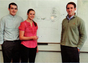 Team Members (L-R): Travis Newport, Angela Mireau, Jonathan Happ