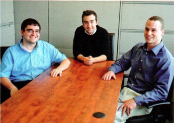 Team Members (L-R): Jacob Anderson, Mehmet Barutcuoglu, Joshua Berger