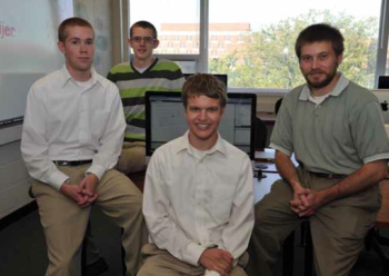 Team Members (L to R): Mike Sanburn, David Oeffner, Mark Schwerzler, Nick Ovenhouse