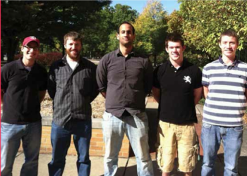 Team Members (L to R): Kyle Pulls, Lyle Jackson, Osama En-Nasr, John Demery, Mike Thompson