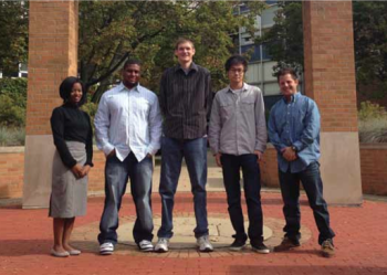 Team Members (L to R): Grace Jones, Stevie Baldwin, Alex Koschmann, Haotian Cai, Timur Yaprak