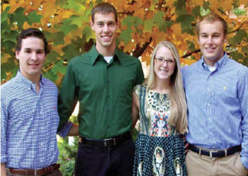 Team Members (L to R): Stephanie Bury, Riley Chapdelaine, John Jess, Craig Miller