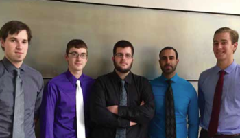 Team Members: Tyler Gallant, Jay Gersonde, Graham Goble, Dan Ignatowski, Rupinder Singh