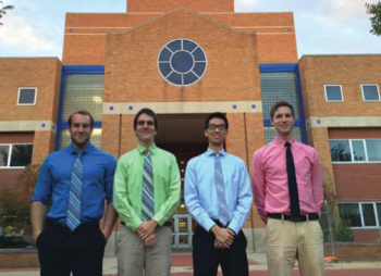 Team Members (L-R): Max Bennett, Alex Taylor, William Kang, Zackary Hickman