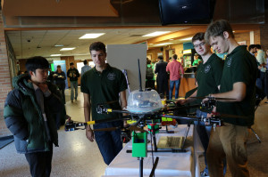 Student organizations display their projects at Design Day