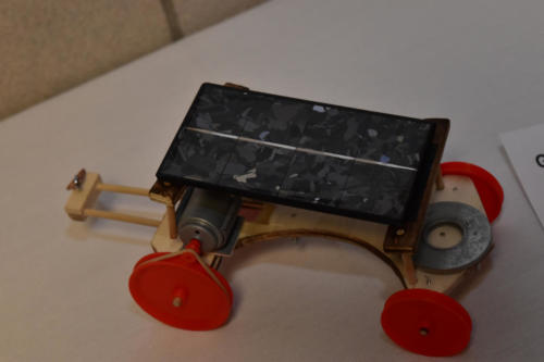 One of the Freshmen Engineering projects was a solar car competition