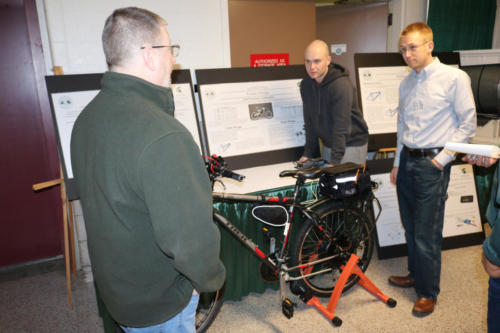 The Electrical Engineering Bikes team discusses their Collision & Blind-spot Detector