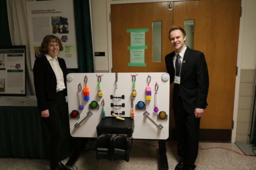 The Mobile Multi-Functional Therapy Station was created for Heartwood School by a Mechanical Engineering team