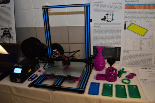 A colorful EGR100 3D printing project