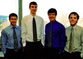 Team Members (L-R): Jason Rigdon, Jordan Clare, Adam Dupler, Cory Sites