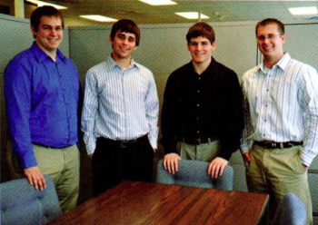 Team Members (L-R): Scott Bishop, Phillip Studans, Austin Gregory, Tom Parker