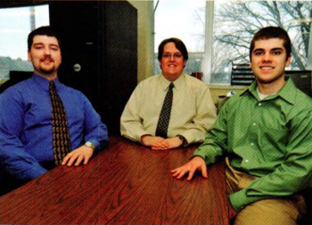 Team Members (L-R): Stephen Wakeford, Edward Messing, Nicholas Gregg