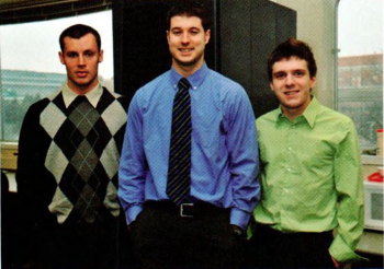Team Members (L-R): Joseph Lockard, Evan Dontje, Edward Waller