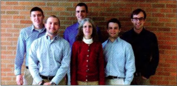 Team Members (L to R): Ross Crumbaugh, Anthony lacovoni, Greg Beebe, Dr. Susan Masten (Sponsor), Brent Haberl, Lance Kohs