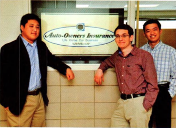 Team Members (L to R): Christopher Marsh, Preston Skupinski, Fai Hui Wu