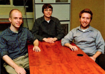 Team Members (L to R): Brandon Overall, Jon Moore, David Cornelius