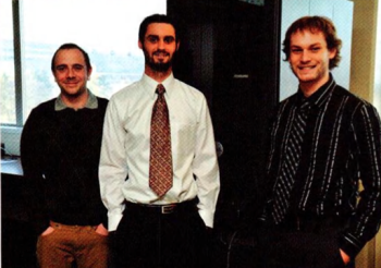 Team Members (L to R): Mike Dunn, Eric Cook, Andrew Space