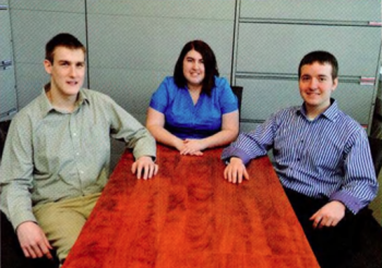 Team Members (L to R): Matthew Duffy, MIchele Winsky, Andrew Melfi