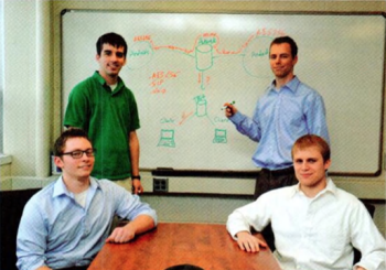 Team Members (L to R): Forrest Yockey, Kyle Bartush, Benjamin Katt, Calvin Griggs