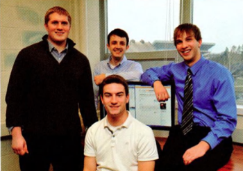 Team Members (L to R): Brian Duncan, Charlie Andrews, Alper Can, Bret Myers