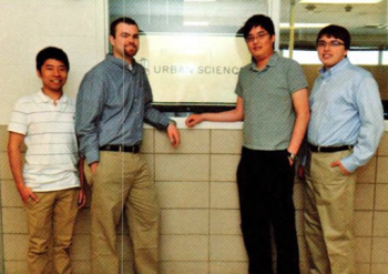 Team Members (L to R): Lok Cheung, Kevin Shreve, Peter Chen, Louis Bodnar