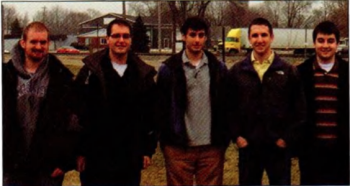 Team Members: Peter Bently, Ryan Lureau, Jonathan Lusczakoski, Christopher Matthes, Benjamin Wilburn