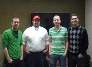 Team Members: Ryan Walsh, Sean Caswell, Richard Eathorne, Eric Hull, Project Mentor: Kevin Gibbons