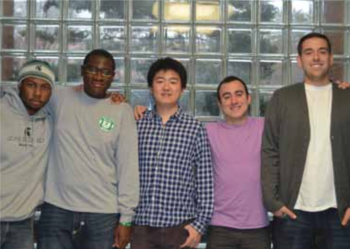 Team Members: Willi Watkins, Ricardo Carter, Feng Xu, Gabriel Pap, Ian Shutek, Project Manager: Kevin Gibbons