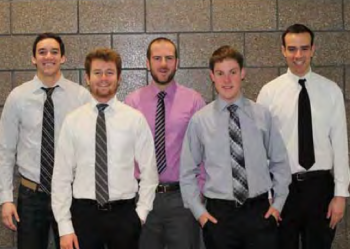 Team Members; Benjaman Bennetts, David Caples, Thomas Dionne, Benjamin Oberski, Scott Schimp