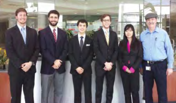 Team Members: Zhijing Liu, Alex Morita, Matthew Pingel, Ryan Thompson, Jeff Von Linsowe