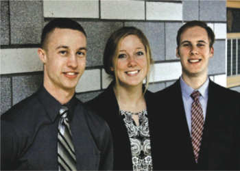 Team Members (L-R): Seth Rohr, Lisa Vogel, Nick Youngerman