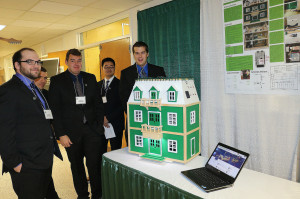 ECE students display their Home Automation Educational Platform