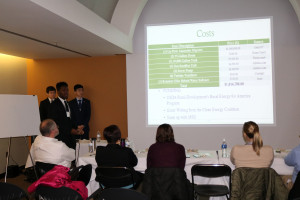 CE students present their project to judges