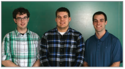 (Left to Right) Chris Mathews, John Pasko, Evan Lemaster