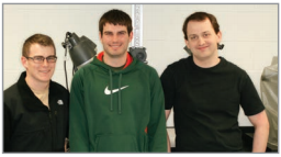 (Left to Right) Eric Shomo, Ethan Gurecki, Martin Scherr