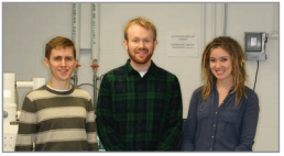 (Left to Right) John Suddard-Bangsund, Thomas Heuser, Emily Taylor