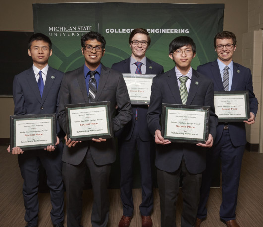 Left to Right: Shaochong Wu, Prathamesh Kulkarni, Alex Zajac, Tharo Soun, William Stevers Not pictured: Ryan Gallant