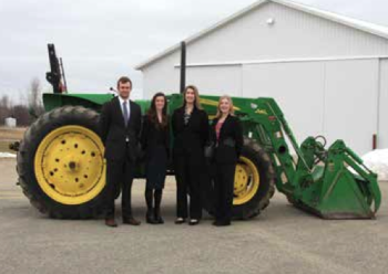 Team Members (L-R): Scott Welburn. Breanna Osburn, Devon Leasher, Leah Iseler