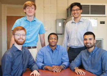 Team Members (L-R): Will Renius, James Grenfell, Daniel Oforidankwa, Eric Zhou, Harry Singh