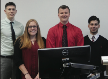 Team Members (L-R): Joseph Commane, Sydney Preston, Jacob Vankeulen & Jason Petros