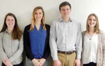 Team Members (L-R): Holly Halliwill, Anna Oslapas, Scott Schultz & Madison Padilla